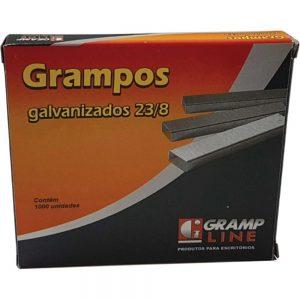 GRAMPO GRAMP LINE 23/8 GALVANIZADO 1000UND