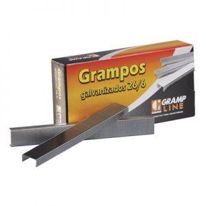 GRAMPO GRAMP LINE 26/6 GALVANIZADO 5000UND