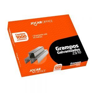 GRAMPO JOCAR 23/10 9/10 GALVANIZADO 1000UND 70FLS 93029