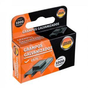 GRAMPO JOCAR 26/6 GALVANIZADO CX1000 93011