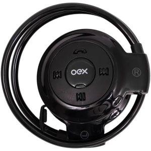 Headset Bluetooth Spin Preto hs308 Oex