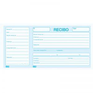 IMPRESSO RECIBO COMERCIAL COM CANHOTO TILIBRA 100FLS 151467