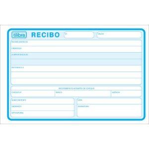IMPRESSO RECIBO COMERCIAL SEM CANHOTO DIPLOMA TILIBRA 50FLS 151441