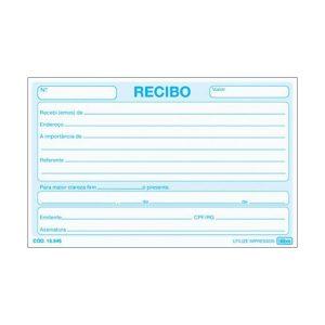 IMPRESSO RECIBO COMERCIAL SEM CANHOTO TILIBRA 50FLS 155454 PCT20