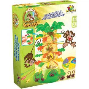 Jogo Cada Macaco No Seu Galho 28 Peças - Art Brink ZG146