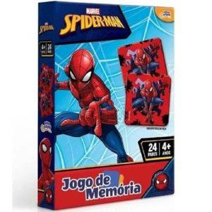 Jogo de Memoria Homem Aranha 24 Pares Toyster 8016