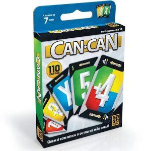 Jogo Super Can Can C/110 Cartas - Grow 02566