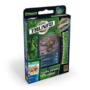 Jogo Super Trunfo Dinossauros C/32 Cartas - Grow 01402