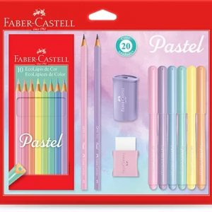 Kit Tons Pastel Faber Castell 20 Unidades KIT/PASTEL