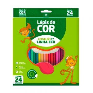 LAPIS DE COR LEOLEO 24 CORES 4222