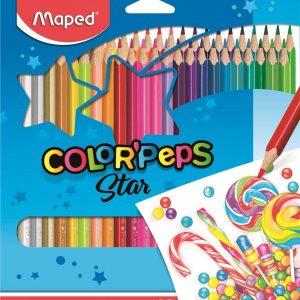 LAPIS DE COR MAPED 48 CORES COLOR PEPS 832048