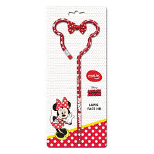 Lapis Grafite Hb Face Minnie Mouse 22341 Molin Blister