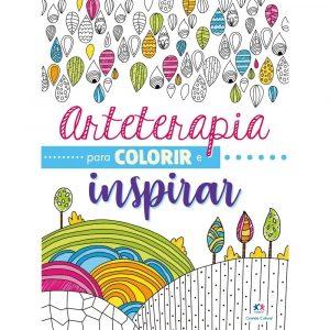 Livro Arteterapia para Colorir e Inspirar Ciranda Cultural