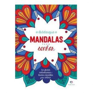 Livro Arteterapia para Colorir Mandalas para Sonhar Ciranda Cultural