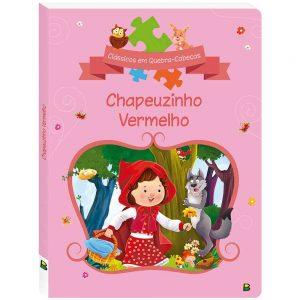 Livro Contos Clássicos em Quebra-Cabeças Chapeuzinho Vermelho