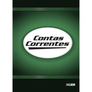 Livro Conta Corrente 1/4 50fls São Domingos 5092 C/10 Unidades