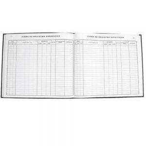 Livro de Registro Específico Farmácia 100 Folhas - Tamoio