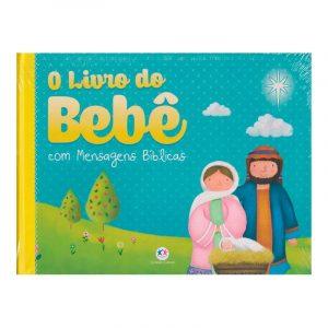 Livro do Bebê com Mensagens Bíblicas Ciranda Cultural