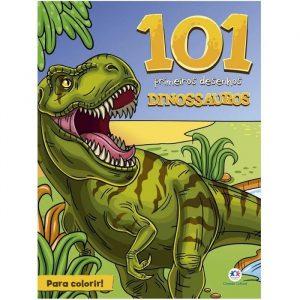 Livro Infantil 101 Primeiros Desenhos Para Colorir Dinossauros Ciranda Cultural