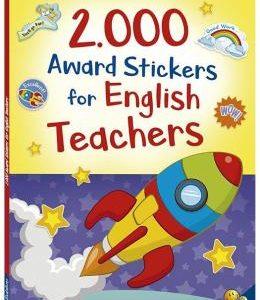 LIVRO INFANTIL 2000 ADESIVOS AWARD STICKERS FOR ENGLISH TEACHERS TODOLIVRO