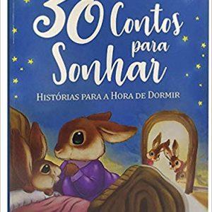 LIVRO INFANTIL 30 CONTOS PARA SONHAR BRASILEITURA