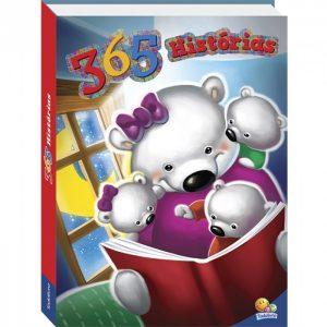 Livro Infantil 365 Hístorias Edição Luxo Brasileitura 1130889
