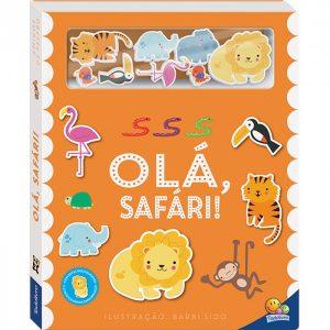 Livro Infantil Amigos Da Fazenda Olá, Safari! Todo Livro 1156322