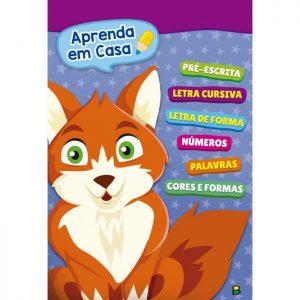 Livro Infantil Apenda Em Casa Brasileitura 1130889