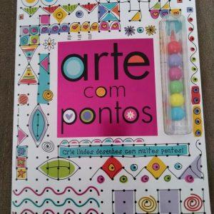 Livro Infantil Arte com Pontos Ciranda Cultural