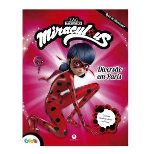 Livro Infantil Atividades Miraculous Ladybug Diversão em Paris Ciranda Cultural