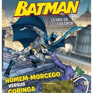 Livro Infantil Batman Lendo E Colorindo Com Máscara Ciranda Cultural