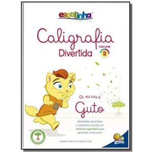 LIVRO INFANTIL ESCOLINHA CALIGRAFIA DIVERTIDA VOLUME 2 GUTO TODOLIVRO