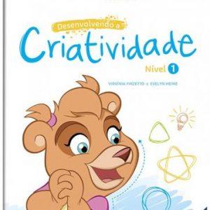 LIVRO INFANTIL ESCOLINHA DESENVOLVENDO A CRIATIVIDADE NIVEL 01 TODOLIVRO