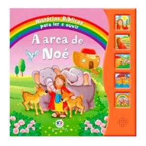 Livro Infantil Historias Bíblicas para Ler e Ouvir A Arca de Noé Ciranda Cultural