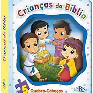 LIVRO INFANTIL JANELINHA LENTICULAR MINHA AVENTURA EM QUEBRA CABECA OS INCRIVEIS CRIANCAS DA BIBLIA SBN EDITORA