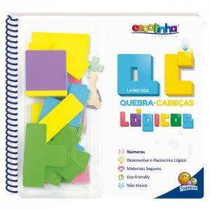Livro Infantil Livro Quebra-Cabeça Lógico Todo Livro 1151665