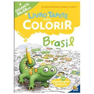 Livro Infantil Tapete para Colorir: Brasil Todo Livro 1157698