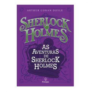 Livro Leitura As Aventuras de Sherlock Holmes Ciranda Cultural