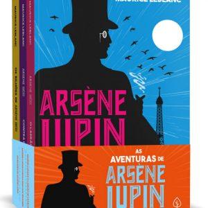 Livro Leitura Box As Aventuras de Arsène Lupin Ciranda Cultural