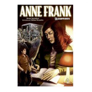 Livro Leitura em Quadrinhos Anne Frank Ciranda Cultural