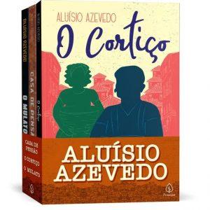 Livro Leitura kit Combo Aluísio Azevedo 3 Volumes Ciranda Cultural