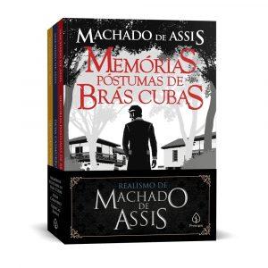 Livro Leitura kit Combo Machado De Assis Realismo 3 Volumes Ciranda Cultural