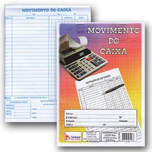 Livro Movimento Do Caixa 1/4 Tamoio 100fls 1116