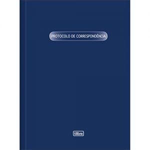 LIVRO PROTOCOLO CORRESPONDENCIA 1/4 TILIBRA 50FLS 126861