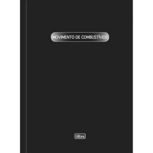 LIVRO TILIBRA REGISTRO MOVIMENTACAO DE COMBUSTIVEL LMC 100FLS