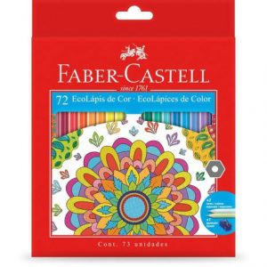 Lápis De Cor 72 Ecolápis Faber Castell 120172G