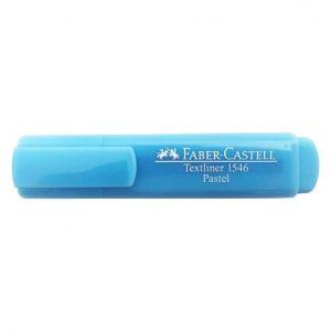 MARCA TEXTO FABER CASTELL TEXTLINER 46 PASTEL AZUL