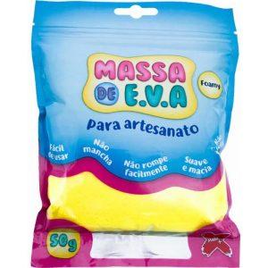MASSA EVA MAKE AMARELO 50GRS 13000