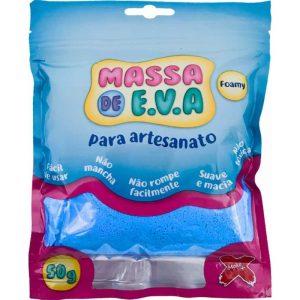 MASSA EVA MAKE AZUL CLARO 50GRS 13001
