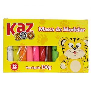 MASSA MODELAR KAZ ZOO 12 CORES KZ4359